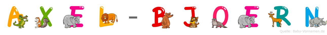 Axel-Björn im Tieralphabet