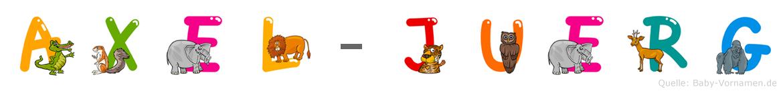 Axel-Jürg im Tieralphabet