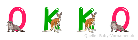 Okko im Tieralphabet